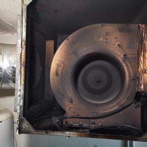sistema de extracción de humos